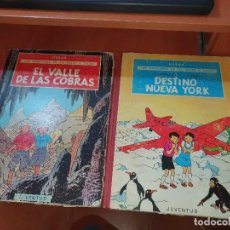 Cómics: LAS AVENTURAS DE JO, ZETTE Y JOCKO, N° 2 Y 5, ED. JUVENTUD. Lote 236164920