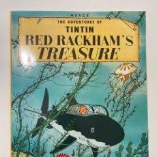 Comics : THE ADVENTURES OF TINTIN. RED RACKHAM'S TREASURE. EDICIONES DEL PRADO. 1959. Lote 236228805