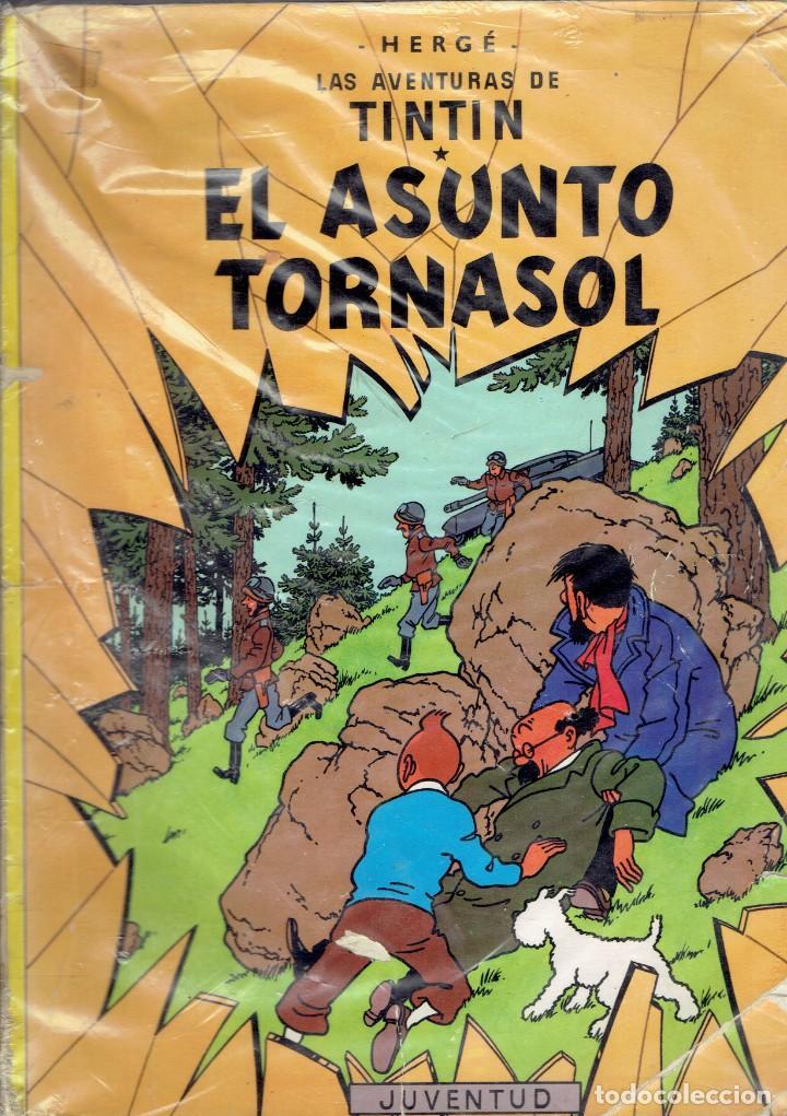 LAS AVENTURAS DE TIN TIN NOVENA EDICION 1984 EDITORIAL JUVENTUD -HERGE- (Tebeos y Comics - Juventud - Tintín)