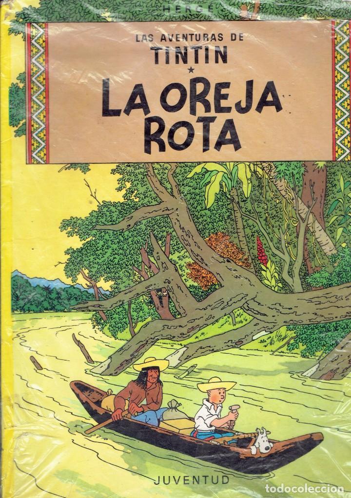 Cómics: LAS AVENTURAS DE TIN TIN NOVENA EDICION 1984 EDITORIAL JUVENTUD -HERGE- - Foto 2 - 236471565