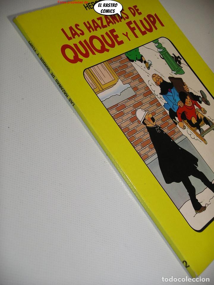 Cómics: Las hazañas de Quique y Flupi tomo nº 2, Hergé, ed. Juventud, 1ª edición 1987, album, 26C - Foto 2 - 236472550