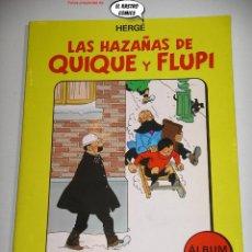 Cómics: LAS HAZAÑAS DE QUIQUE Y FLUPI TOMO Nº 2, HERGÉ, ED. JUVENTUD, 1ª EDICIÓN 1987, ALBUM, 26C. Lote 236472550