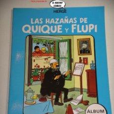 Cómics: LAS HAZAÑAS DE QUIQUE Y FLUPI TOMO Nº 4, HERGÉ, ED. JUVENTUD, 1ª EDICIÓN 1987, ALBUM, 26C. Lote 236472560