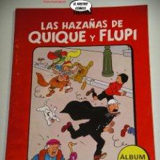 Fumetti: LAS HAZAÑAS DE QUIQUE Y FLUPI TOMO Nº 6, HERGÉ, ED. JUVENTUD, 1ª EDICIÓN 1987, ALBUM, 26C. Lote 236472570