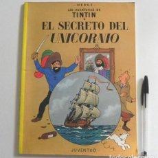 Cómics: CÓMIC - EL SECRETO DEL UNICORNIO - TINTIN AVENTURA HUMOR - HERGÉ - EDITORIAL JUVENTUD - BARCO. Lote 236729175