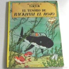 Cómics: EL TESORO DE RACKHAM EL ROJO - TINTIN AVENTURA HUMOR - HERGÉ - CÓMIC - EDITORIAL JUVENTUD. Lote 236731750