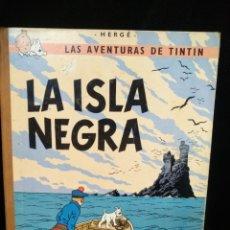 Comics : TINTÍN LA ISLA NEGRA 1969, 3A EDICIÓN.. Lote 237067105