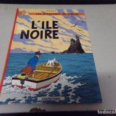 Cómics: TINTIN - L'ILE NOIRE - CASTERMAN (ORIGINAL FRANCES) 1984. Lote 237372450