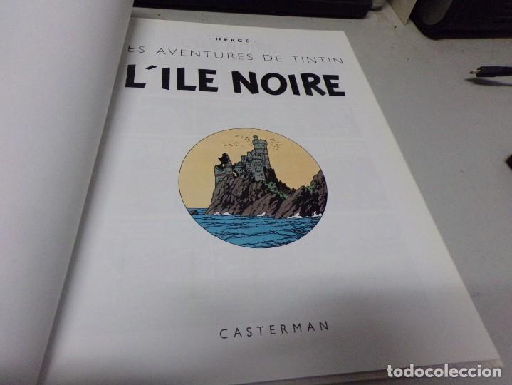 Cómics: tintin - Lile noire - Casterman (original frances) 1984 - Foto 3 - 237372450