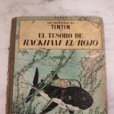 Cómics: TINTIN - EL TESORO DE RACKHAM EL ROJO - EDITORIAL JUVENTUD DE 1967. Lote 237383645