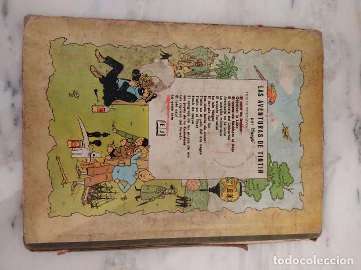 Cómics: TINTIN - EL TESORO DE RACKHAM EL ROJO - EDITORIAL JUVENTUD DE 1967 - Foto 2 - 237383645