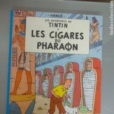 Cómics: TINTIN LES CIGARES DU PHARAON CASTERMAN 4 FRANCÉS. Lote 238497980