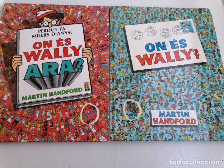 2 LIBROS DE ON ES WALLY? ON ES WALLY ARA? 1987 Y 1988 POR MARTIN HANDFORD (Tebeos y Comics - Juventud - Otros)