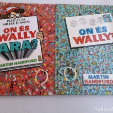 Cómics: 2 LIBROS DE ON ES WALLY? ON ES WALLY ARA? 1987 Y 1988 POR MARTIN HANDFORD. Lote 238600820