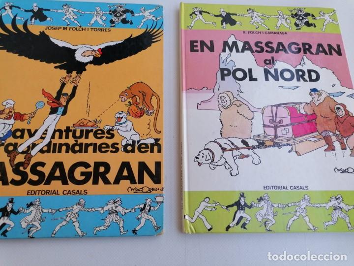 AVENTURES EXTRAORDINARIES DÉN MASAGRAN . Y EN MASAGRAN AL POL NORD (Tebeos y Comics - Juventud - Otros)