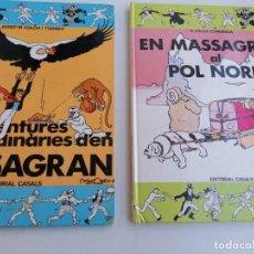 Cómics: AVENTURES EXTRAORDINARIES DÉN MASAGRAN . Y EN MASAGRAN AL POL NORD. Lote 238601435