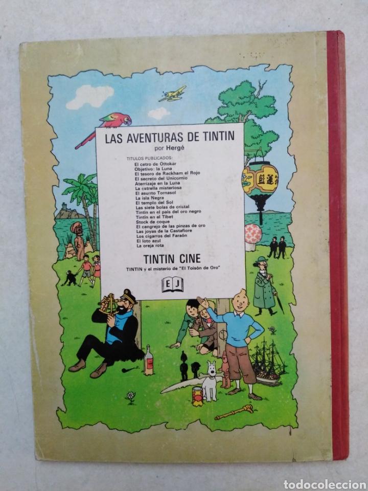 Cómics: Tintin y el misterio de El toison de oro, 1 EDICION MARZO 1968 ( juventud ) - Foto 2 - 240104865