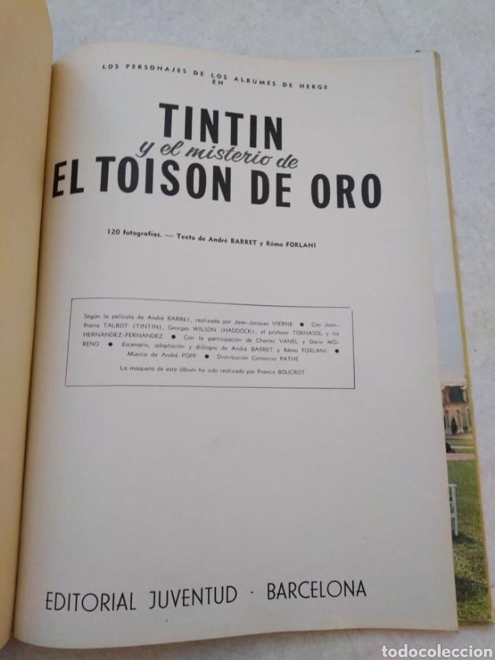 Cómics: Tintin y el misterio de El toison de oro, 1 EDICION MARZO 1968 ( juventud ) - Foto 3 - 240104865