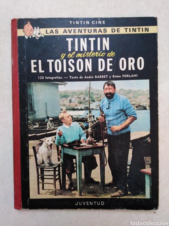 TINTIN Y EL MISTERIO DE EL TOISON DE ORO, 1 EDICION MARZO 1968 ( JUVENTUD ) (Tebeos y Comics - Juventud - Tintín)