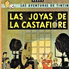 Cómics: LAS JOYAS DE CASTAFIORE - LAS AVENTURAS DE TINTIN 2º EDICIÓN 1965 - HERGÉ -ED. JUVENTUD LOMO EN TELA. Lote 240156680