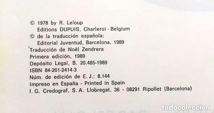 Cómics: MENSAJE PARA LA ETERNIDAD - Yoko Tsuno - Roger Leloup Nº 5 Ed Juventud 1ª Primera Edición Tapa Dura - Foto 2 - 241222590