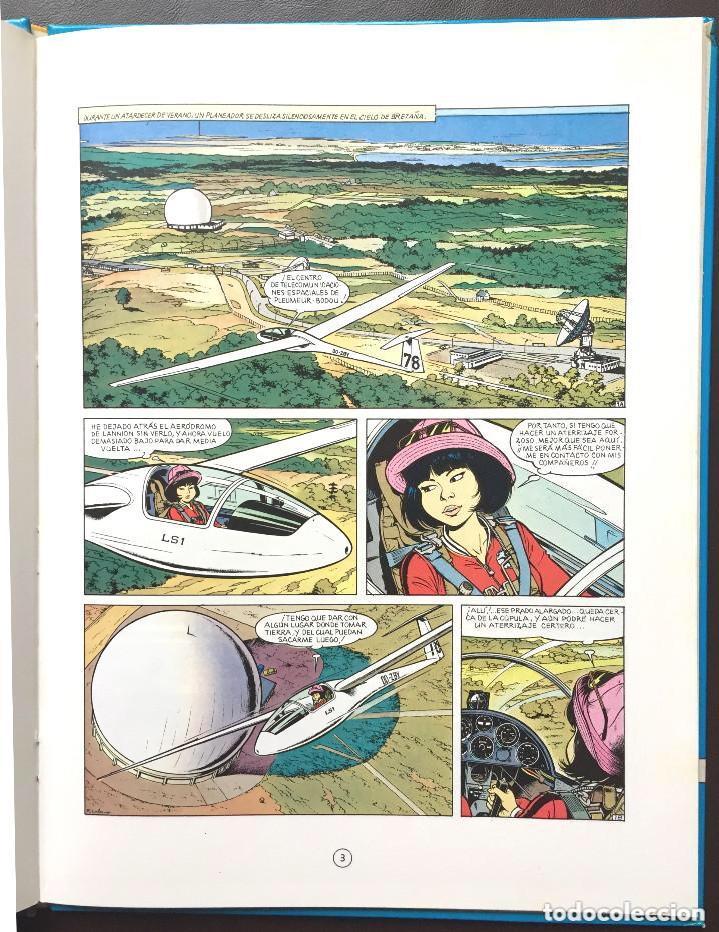 Cómics: MENSAJE PARA LA ETERNIDAD - Yoko Tsuno - Roger Leloup Nº 5 Ed Juventud 1ª Primera Edición Tapa Dura - Foto 3 - 241222590