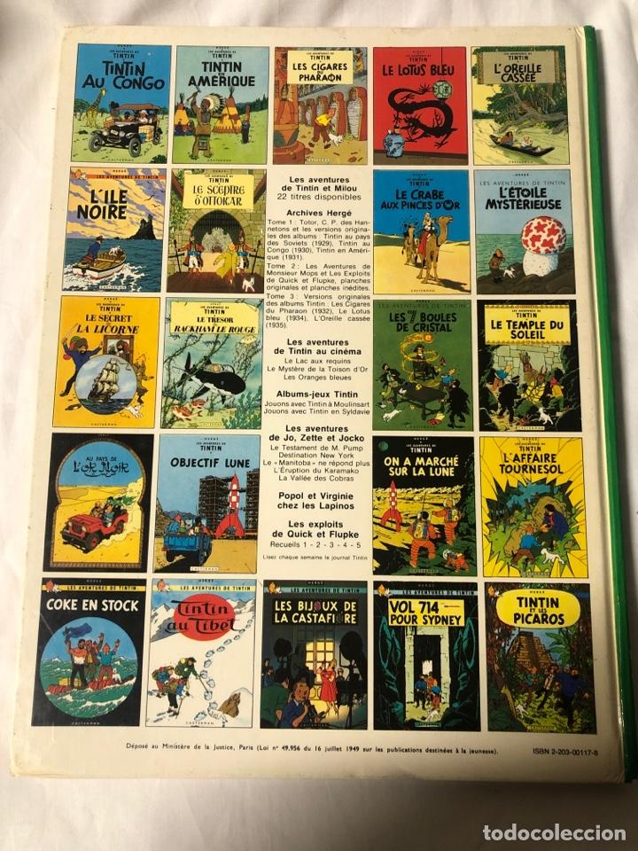 Cómics: TINTIN EN EL ASUNTO TORNASOL EN FRANCES CASTERMAN 1956 - Foto 3 - 235857515