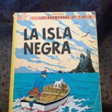 Cómics: LA ISLA NEGRA = LAS AVENTURAS DE TINTIN. Lote 241700810