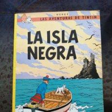 Cómics: LA ISLA NEGRA = LAS AVENTURAS DE TINTIN. Lote 241701680