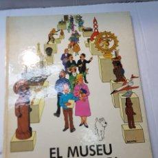 Cómics: COMIC TINTIN-EL MUSEU IMAGINARI DE TINTIN-PRIMERA EDICIÓN JOVENTUT 1982. Lote 241933270