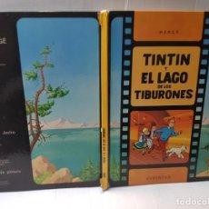 Cómics: COMIC TINTIN-TINTIN Y EL LAGO DE LOS TIBURONES-PRIMERA EDICIÓN JOVENTUT 1974. Lote 241935490