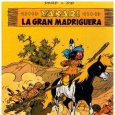 Cómics: YAKARI 10 - LA GRAN MADRIGUERA - JUVENTUD. 1ª EDICIÓN 1968. PERFECTO.. Lote 242890125