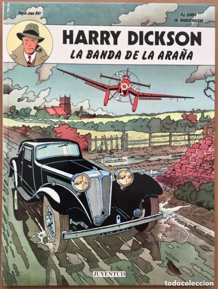 HARRY DICKSON LA BANDA DE LA ARAÑA EDITORIAL JUVENTUD 1ª PRIMERA EDICIÓN TAPA DURA (Tebeos y Comics - Juventud - Otros)