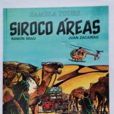 Cómics: SIROCO ÁREAS RAMBLA TOURS JUVENTUD TAPA DURA. Lote 243016230