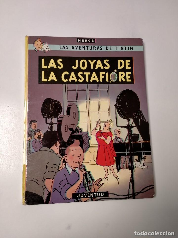 TINTÍN LAS JOYAS DE LA CASTAFIORE TAPA DURA EDITORIAL JUVENTUD 1978 EDICIÓN 5 (Tebeos y Comics - Juventud - Tintín)