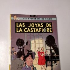 Comics : TINTÍN LAS JOYAS DE LA CASTAFIORE TAPA DURA EDITORIAL JUVENTUD 1978 EDICIÓN 5. Lote 243053210