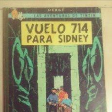 Cómics: TINTIN- VUELO 714 PARA SIDNEY. Lote 243269415