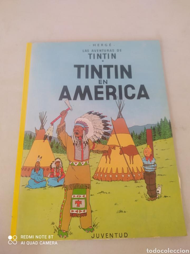 LAS AVENTURAS DE TINTÍN EN AMERICA (Tebeos y Comics - Juventud - Tintín)