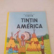 Cómics: LAS AVENTURAS DE TINTÍN EN AMERICA. Lote 243355335