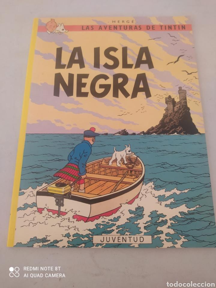 LAS AVENTURAS DE TINTÍN LA ISLA NEGRA (Tebeos y Comics - Juventud - Tintín)