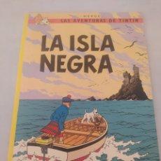 Cómics: LAS AVENTURAS DE TINTÍN LA ISLA NEGRA. Lote 243357830