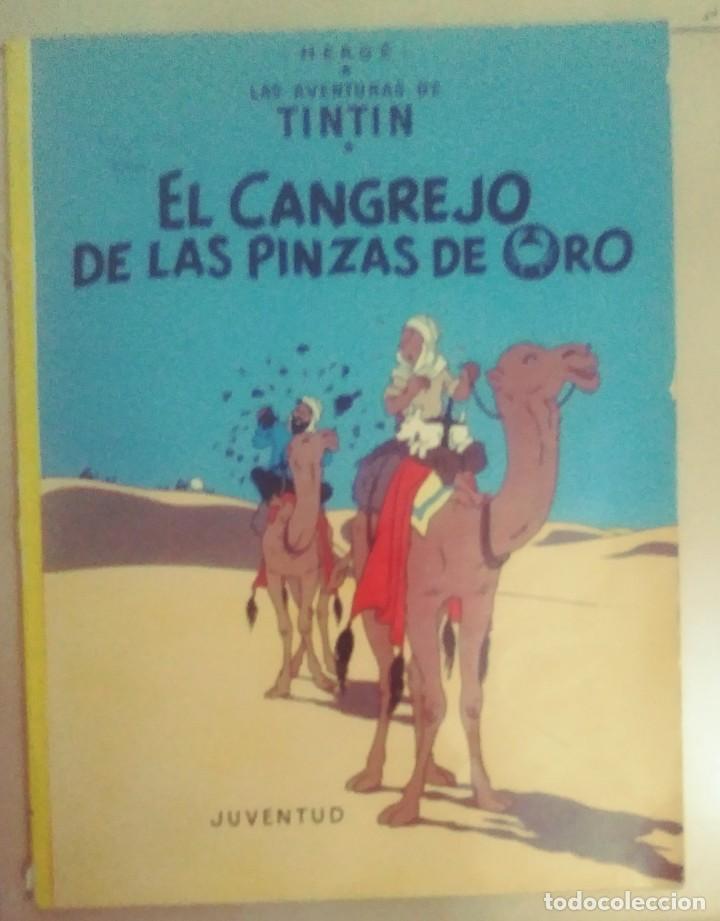 TINTIN-EL CANCREJO DE LAS PINZAS DE ORO (Tebeos y Comics - Juventud - Tintín)