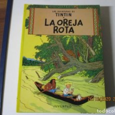 Cómics: HERGE LAS AVENTURAS DE TINTIN EN LA OREJA ROTA 1996 DECIMOQUINTA EDICION. Lote 243492755