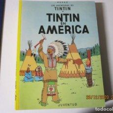 Cómics: HERGE LAS AVENTURAS DE TINTIN EN AMERICA 1996 DECIMOQUINTA EDICION. Lote 243493180