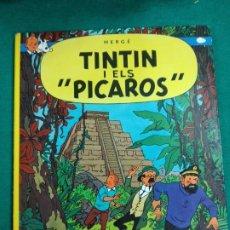 Cómics: TINTIN I ELS PICAROS. HERGE. EDITORIAL JOVENTUT QUARTA EDICIO 1983.. Lote 243533275
