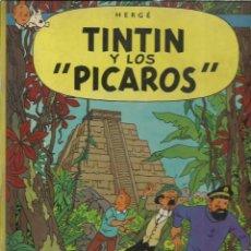 Cómics: TINTIN Y LOS PICAROS, 1976, PRIMERA EDICIÓN, JUVENTUD. Lote 243574965