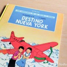 Cómics: LAS AVENTURAS DE JO, ZETTE Y JOCKO DESTINO A NUEVA YORK - HERGÉ - 1975. Lote 243775385