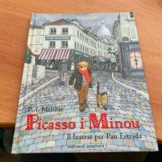 Cómics: PICASSO I MINOU IL.LUSTRAT PAU ESTRADA (COIB193). Lote 243861595