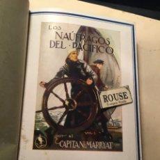 Cómics: CAPITAN MARRYAT -LOS NAUFRAGOS DEL PACIFICO - 4 VOLUMENES 1ª EDC. 1928 - EDT. JUVENTUD. Lote 243871460