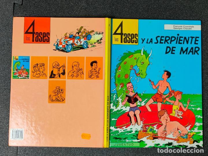LOS 4 ASES Y LA SERPIENTE DE MAR Nº 1 - CRAENHALS Y CHAULET - JUVENTUD - 1ª EDICION 1992 - TAPA DURA (Tebeos y Comics - Juventud - Otros)